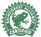 ORO Travel is verified by Rainforest Alliance