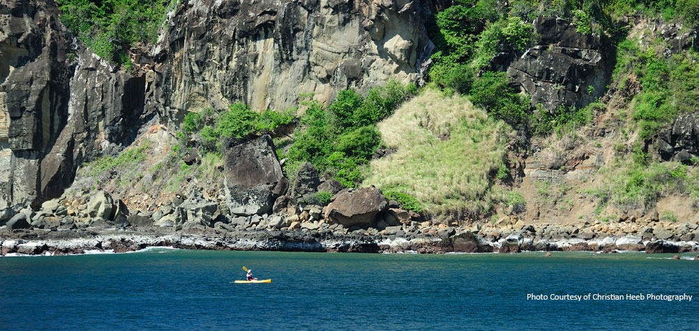 Discover Nicaragua's pacific coast with beautiful beaches where you can take a boat tour.