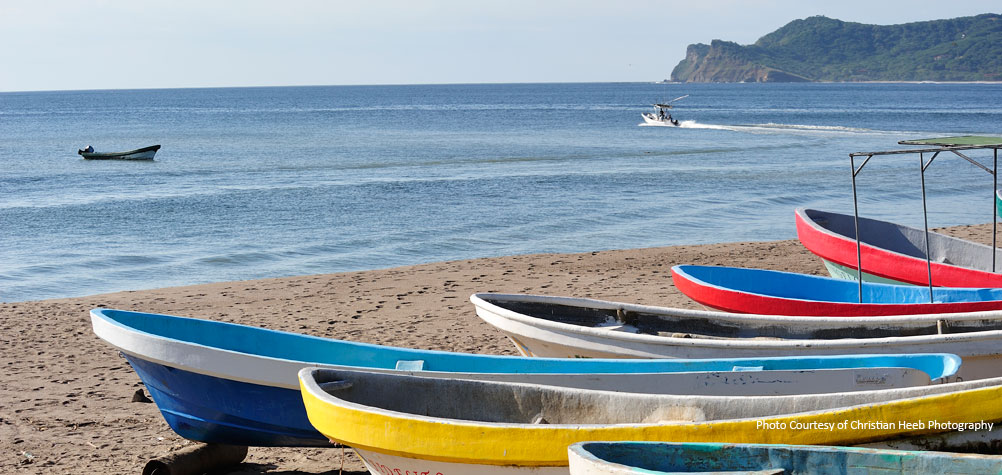 Discover Nicaragua with a guided tour of Nicaragua's beaches.